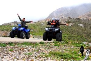 ATV fun ride to Ancient Thira