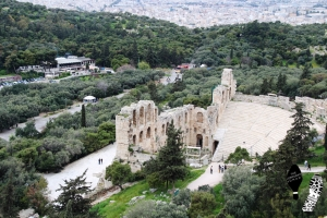 The Ancient Theatre of Dionysus in Athens, Attica