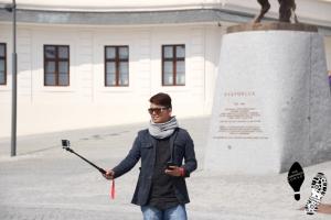 Selfie at the Bratislavský Castle