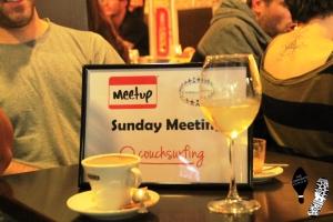 Couchsurfing meet-up