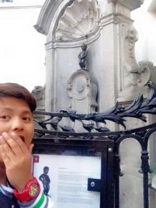 The Statue of Manneken Pis